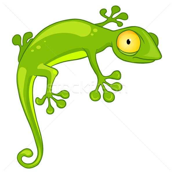Cartoon Character Lizard Stock photo © RAStudio
