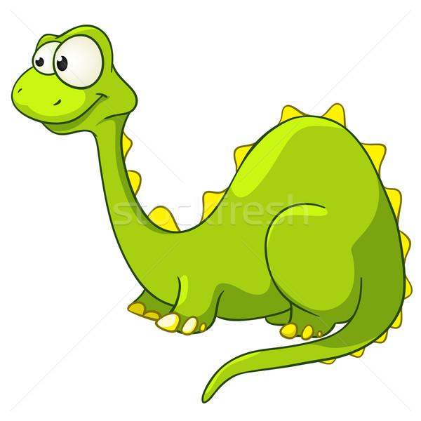 Cartoon Character Dino Stock photo © RAStudio