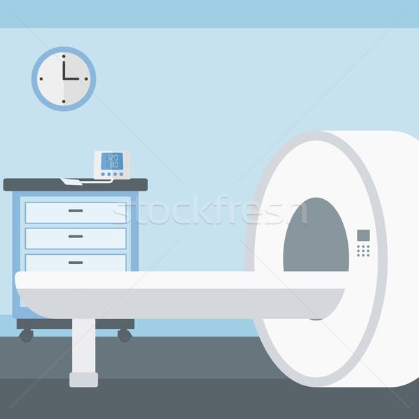 Ziekenhuis kamer mri machine vector ontwerp Stockfoto © RAStudio