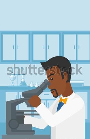 Patiënt ultrageluid onderzoek jonge vrouwelijke arts Stockfoto © RAStudio