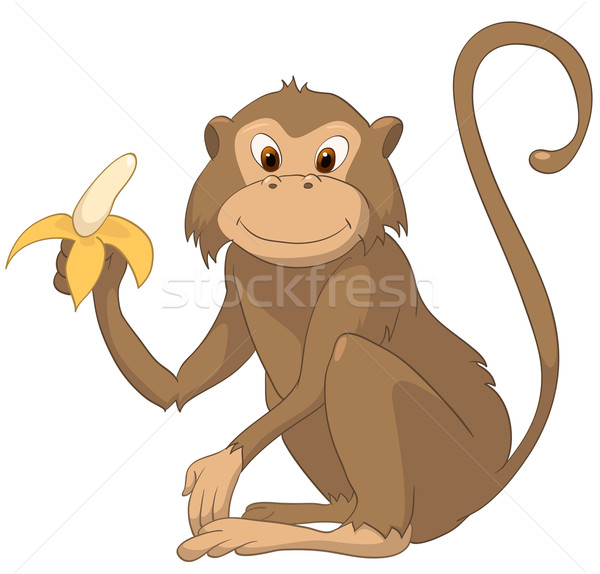 Cartoon Character Monkey Stock photo © RAStudio