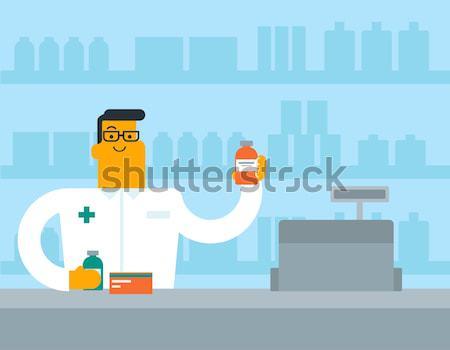 Stockfoto: Vrouw · jonge · vrouw · zuurstofmasker · ziekenhuis · hartslag