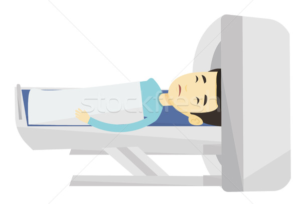 Magnetic resonance imaging vector illustration. Stock photo © RAStudio