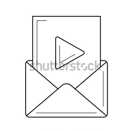 オーディオ ファイル 行 アイコン ウェブ 携帯 ストックフォト © RAStudio