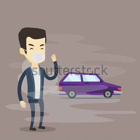 Air pollution from vehicle exhaust. Stock photo © RAStudio