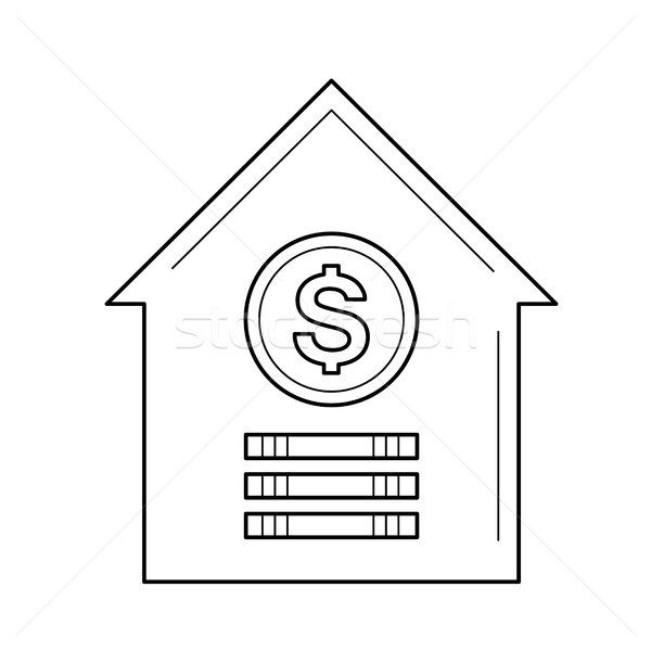 House for sale line icon. Stock photo © RAStudio
