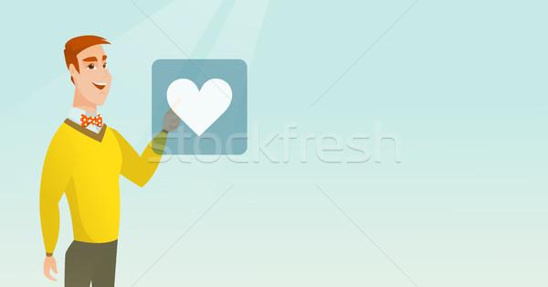 Giovane cuore pulsante Foto d'archivio © RAStudio