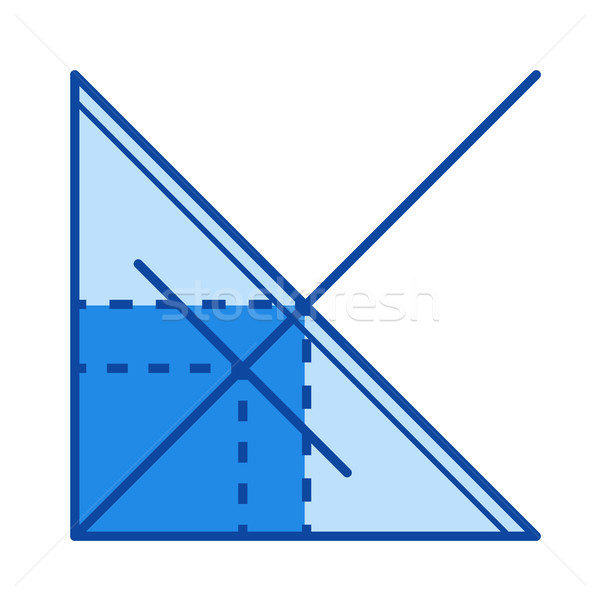 Function graph line icon. Stock photo © RAStudio