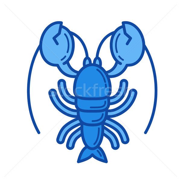 Lobster line icon. Stock photo © RAStudio
