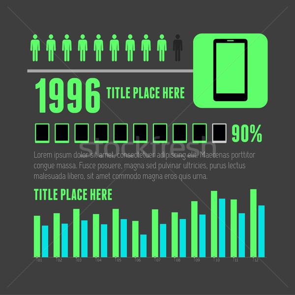 インフォグラフィック 要素 eps 10 デザイン 電話 ストックフォト © RAStudio