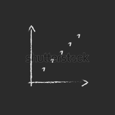 Growth graph line icon. Stock photo © RAStudio