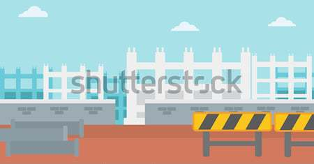 Background of construction site. Stock photo © RAStudio