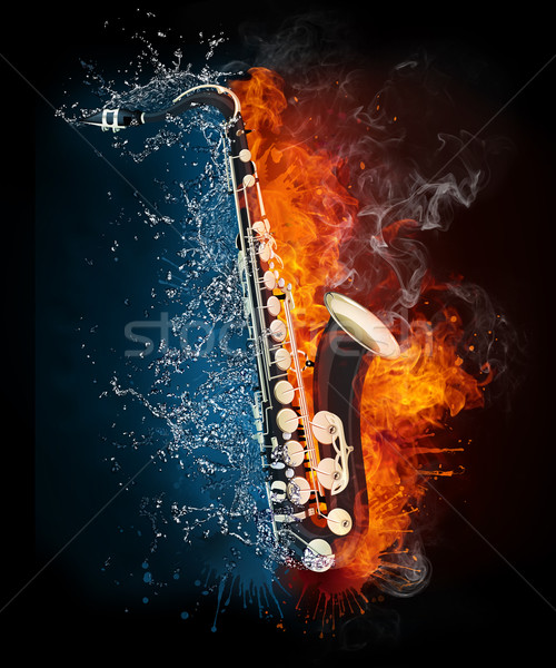 Saxophone Stock photo © RAStudio