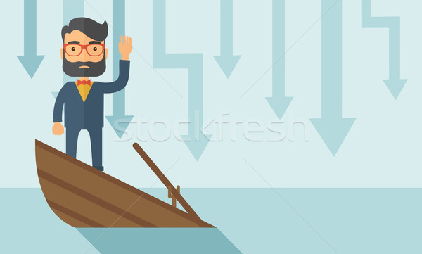 Business drowned Stock photo © RAStudio