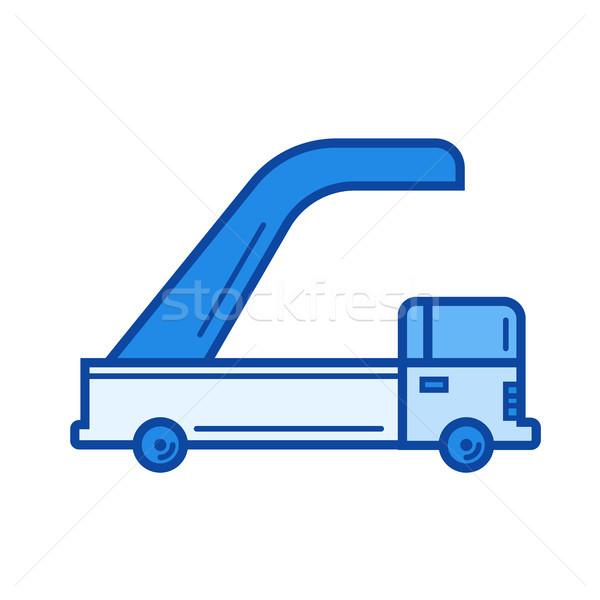 Jet ladder line icon. Stock photo © RAStudio