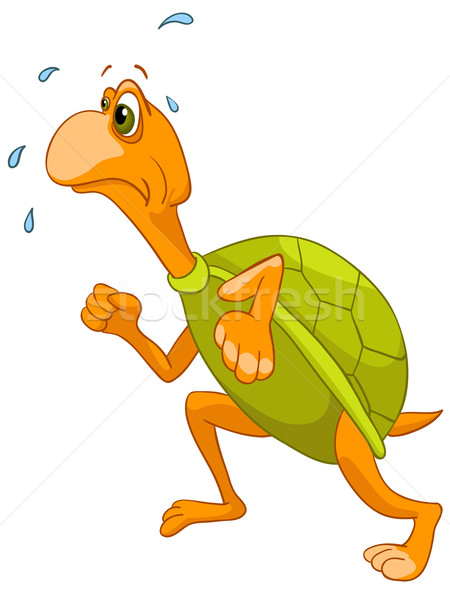 Cartoon Character Turtle Stock photo © RAStudio