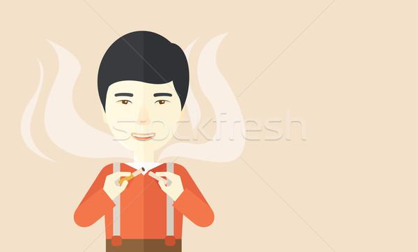 Stop smoking. Stock photo © RAStudio