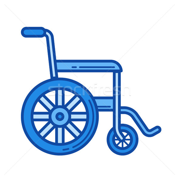 Wheelchair line icon. Stock photo © RAStudio