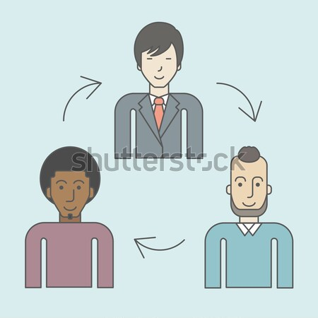 Staff turnover. Stock photo © RAStudio