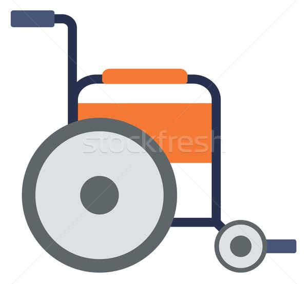 Side view of empty wheelchair. Stock photo © RAStudio
