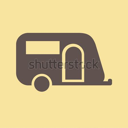 Reizen icon vector pictogram eps 10 Stockfoto © RAStudio