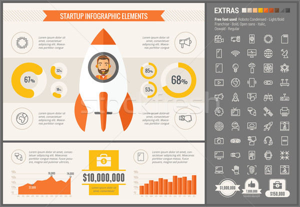 Infographic template and