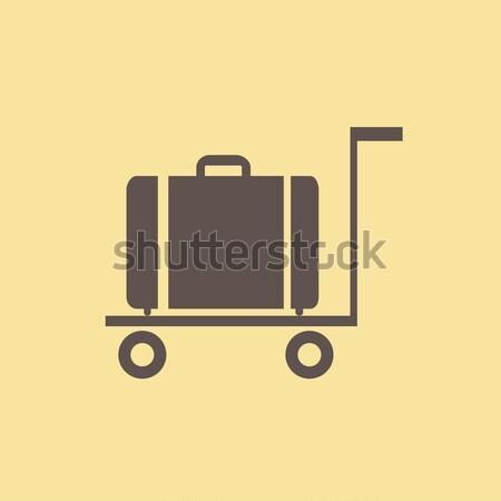 Travel Flat Icon Stock photo © RAStudio