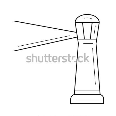 Lighthouse line icon. Stock photo © RAStudio