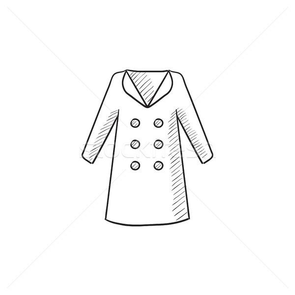 Coat sketch icon. Stock photo © RAStudio
