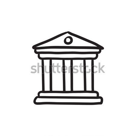 Museum sketch icon. Stock photo © RAStudio