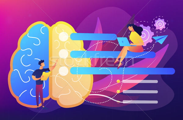 Planning concept vector illustration. Stock photo © RAStudio
