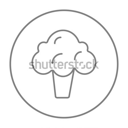 Broccoli line icon. Stock photo © RAStudio