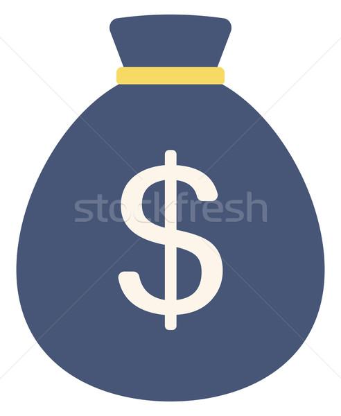 Money bag with dollar sign Stock photo © RAStudio