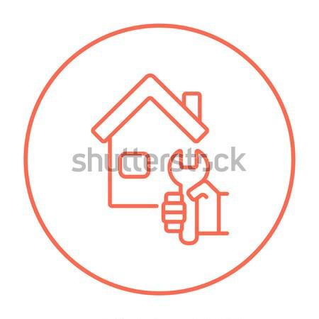 House repair line icon. Stock photo © RAStudio