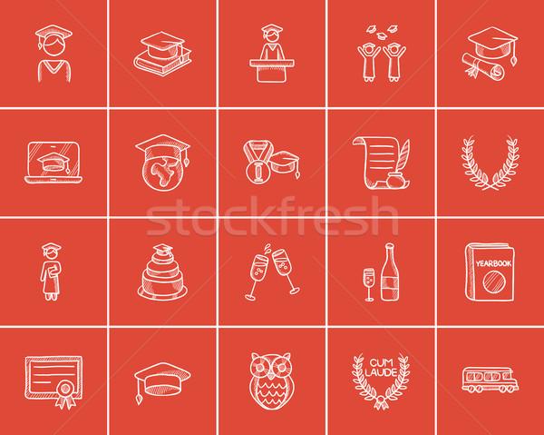Сток-фото: образование · эскиз · веб · мобильных · Инфографика