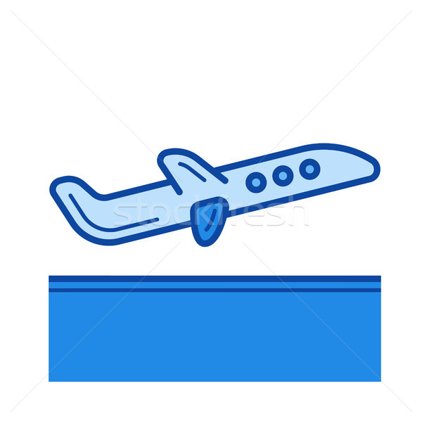 Departure line icon. Stock photo © RAStudio