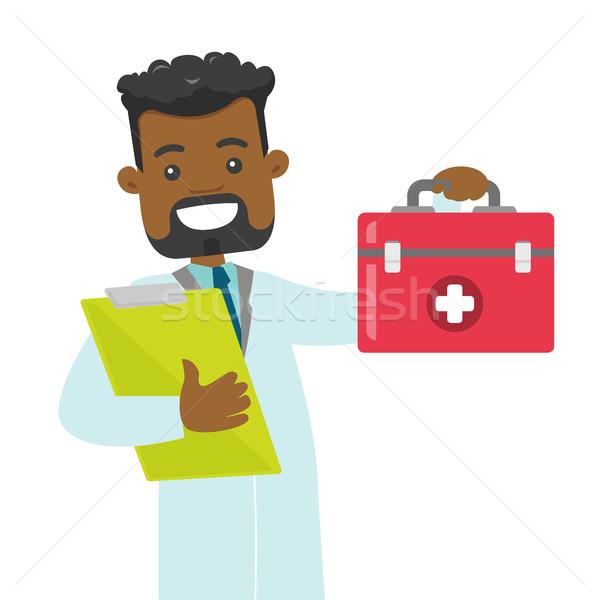 医師 応急処置 ボックス 医療 ストックフォト © RAStudio