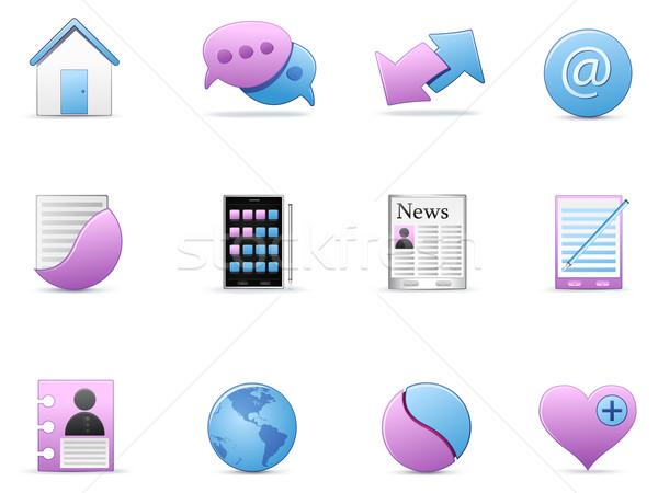 Icon Set Stock photo © RAStudio
