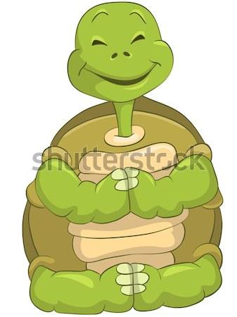 Angry Turtle. Stock photo © RAStudio