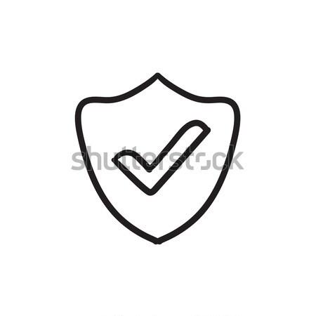 Quality is confirmed sketch icon. Stock photo © RAStudio