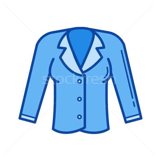 Jacket line icon. Stock photo © RAStudio