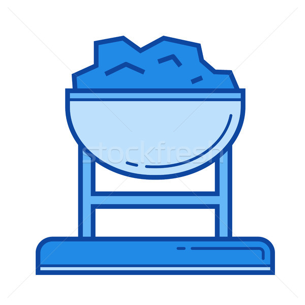 Coal trolley line icon. Stock photo © RAStudio