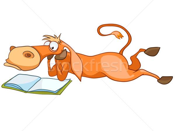 Cartoon Character Horse Stock photo © RAStudio