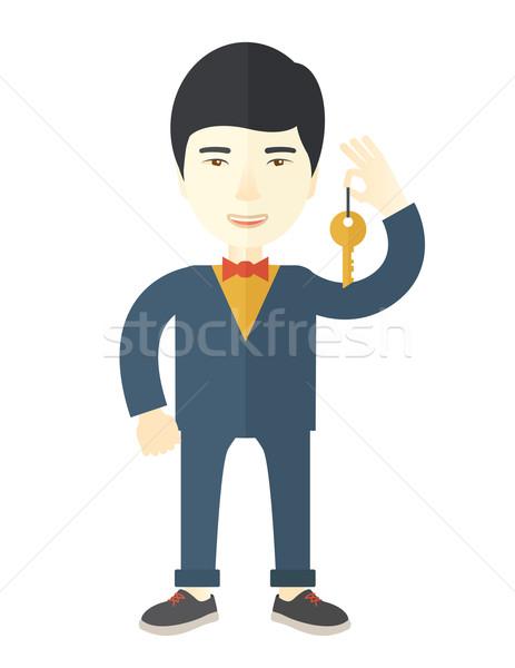 Real estate agent. Stock photo © RAStudio