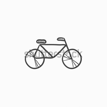 Bicycle line icon. Stock photo © RAStudio