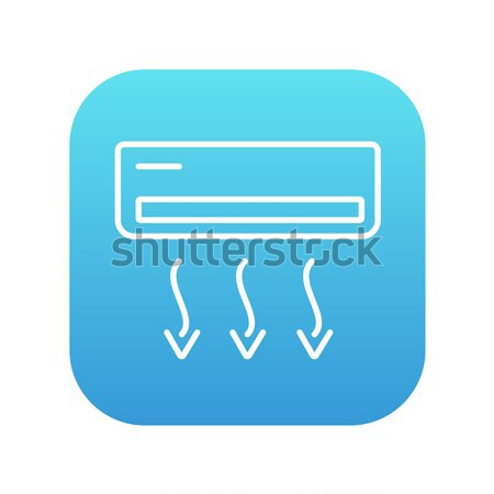 Air conditioner line icon. Stock photo © RAStudio