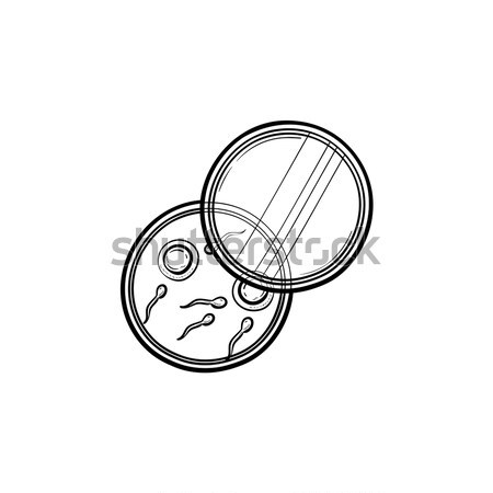 Donor sperm sketch icon. Stock photo © RAStudio