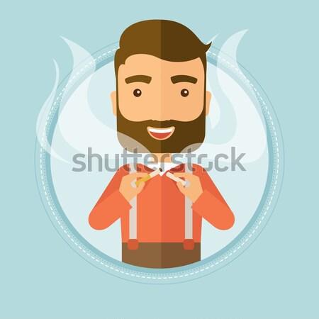 Stop smoking Stock photo © RAStudio