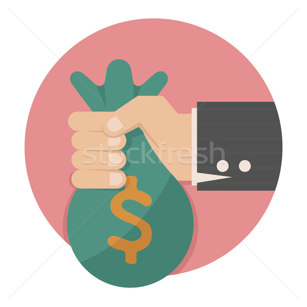 Hand with money Stock photo © ratch0013