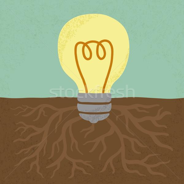 Idée arbre eps10 vecteur format lumière Photo stock © ratch0013